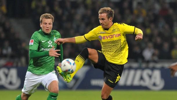 Dortmund eröffnet gegen Bremen