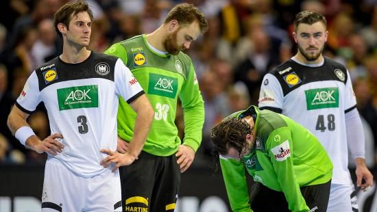 Deutsche Handballer verpassen Einzug in das WM-Finale
