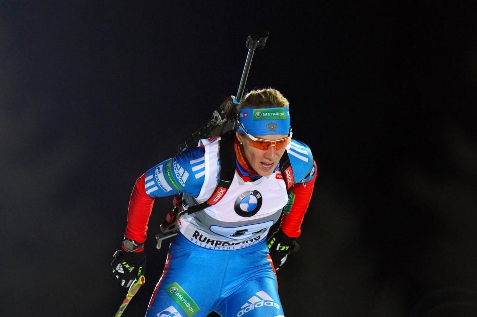 Olga Saizewa: eine der drei durch das IOC lebenslang von Olympischen Spielen ausgeschlossenen Biathletinnen.