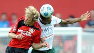 Leverkusen verpasst Sprung an die Tabellenspitze