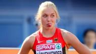 Frechheit siegt: Gina Lückenkemper sprintet zu EM-Bronze.