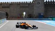 Lando Norris soll McLaren auch in Baku anführen.