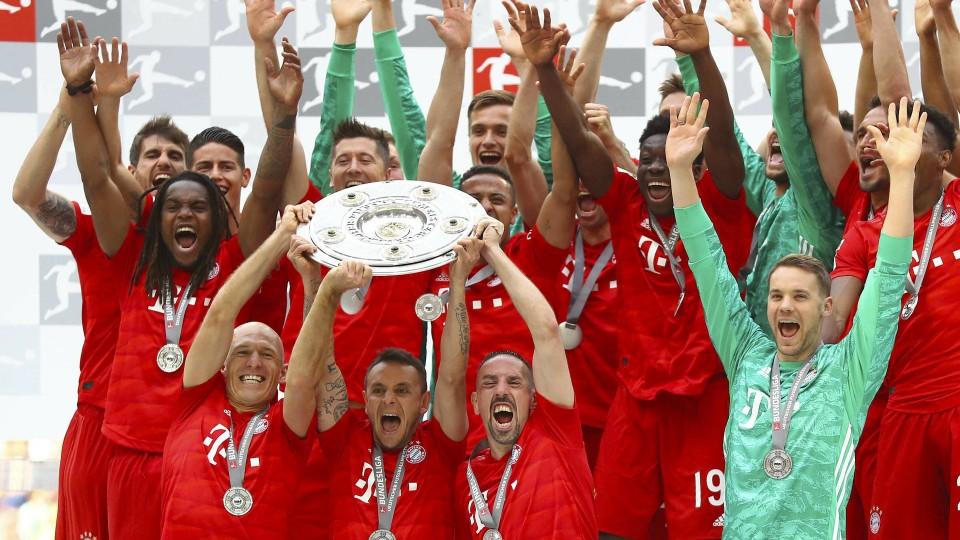 Fc Bayern Munchen Immer Wieder Meister