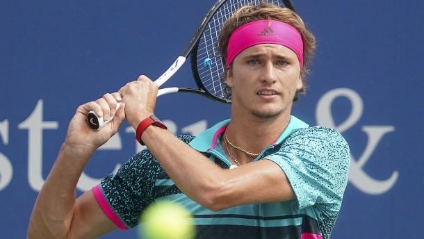 Alexander Zverevs Formtief vor den US Open