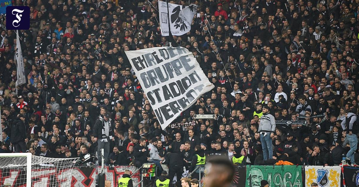 Polizeieinsatz im Stadion: Eintracht-Fan erhält Schmerzensgeld