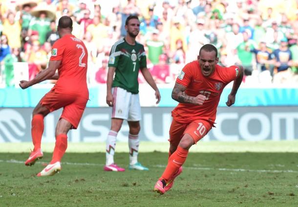Gegen mexiko sneijder und huntelaar retten holland bild 19 von 24
