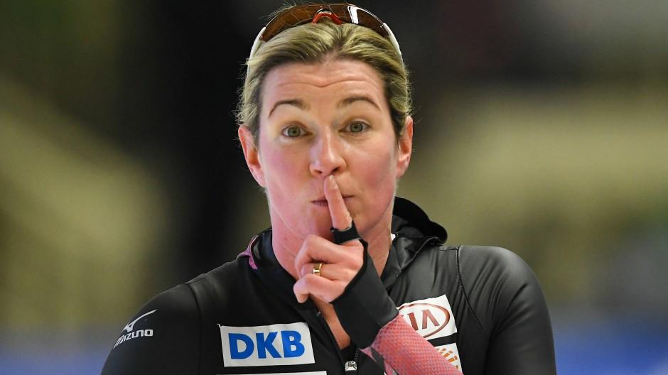 So viel ist sicher: Zum Schweigen lässt sich Claudia Pechstein nicht bringen.