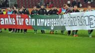 Achtundvierzig Punkte am Stück - so viele hat der FC Augsburg im Jahr 2013 geholt