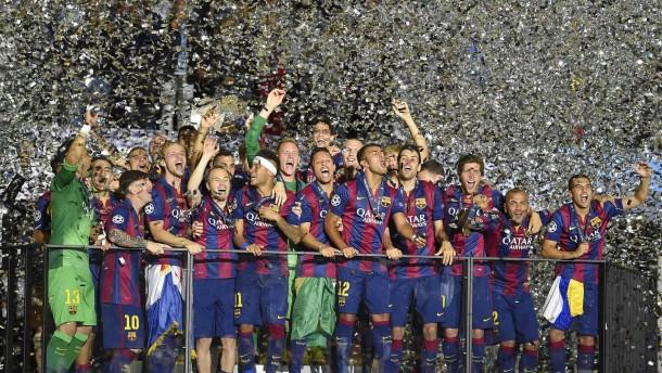Europas Fußballkönige kommen aus Barcelona