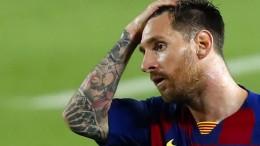 """""""Der Urknall"""": Messi nicht im Kader des FC Barcelona"""