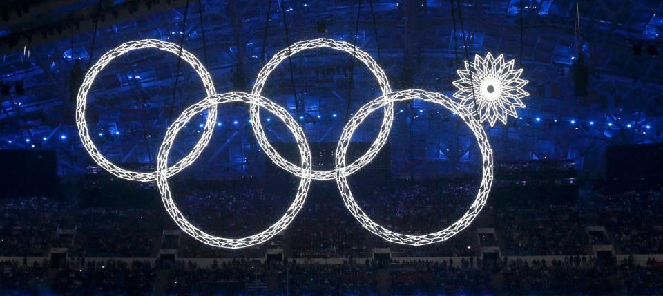 Olympische Eröffnungsfeier Patriotismus Und Kurze Hosen