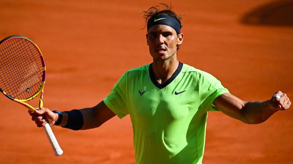 Der König von Paris: Rafael Nadal hat bei den French Open noch nie ein Halbfinale oder Endspiel verloren.