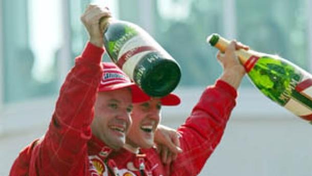 Barrichello besiegt BMW-Motoren und Schumacher