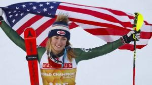 Shiffrin schreibt Ski-Geschichte