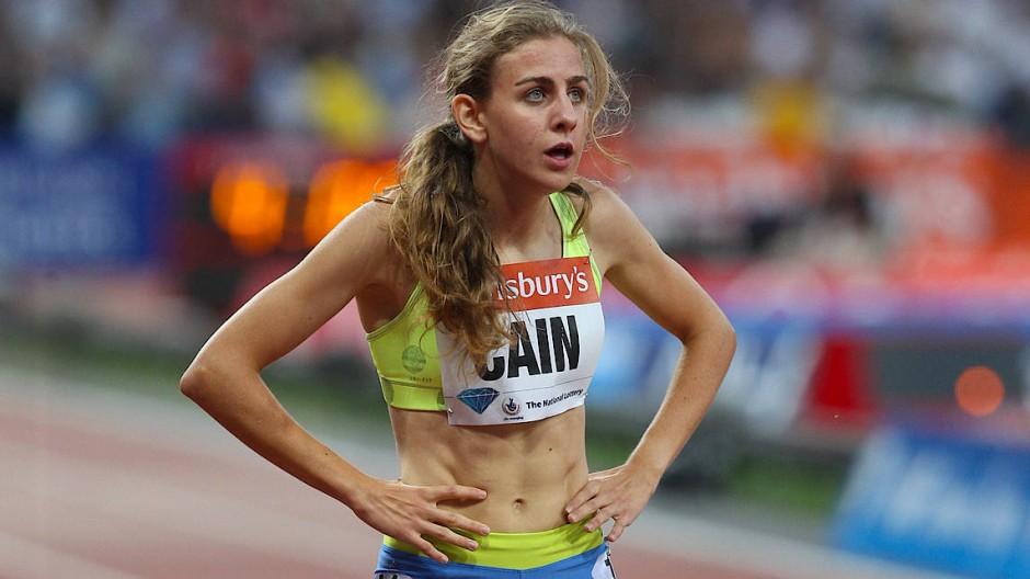 Schwerste Vorwürfe: Läuferin Mary Cain, hier 2013 in London