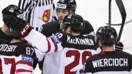 Auftakt nach Maß für die Eishockey-Cracks aus Kanada