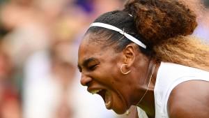Serena Williams war in therapeutischer Behandlung