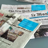 Einigkeit in der Bewertung: Die internationale Presse beurteilt die Entscheidung zur Verlegung Olympias als unausweichlich.