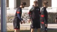 Bayern vor dem Donezk-Spiel