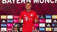 Erster Auftritt von Vidal im FC Bayern Trikot