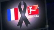 HSV und BVB: Hamburger Schweigeminute für die Opfer von Paris
