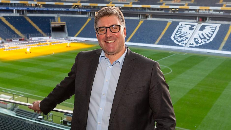 Vorstandssprecher Axel Hellmann und seine Kollegen planen die Zukunft der Eintracht.