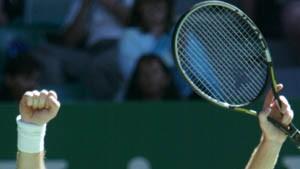 """""""Der rote Blitz"""" spielt nun gegen Andy Roddick"""