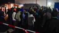 Massenschlägerei in Flüchtlingsunterkunft