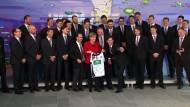 Merkel empfängt die Handball-Europameister