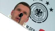 Podolski verärgert über seinen Ruf als Maskottchen