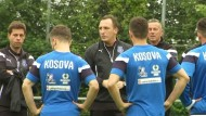Kosovo bereitet sich auf erstes offizielles Länderspiel vor