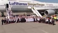 Olympia-Team zurück in Deutschland