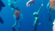 Holländerin taucht 92 Meter tief mit einem Atemzug
