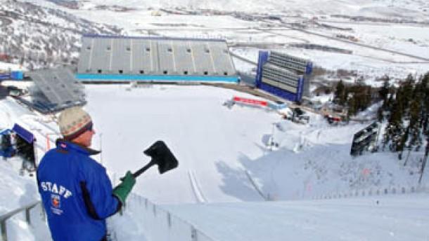 Schneefall zu Winterspielen erwartet