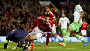 Manchester United ist zu gut für Wolfsburg