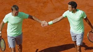 Deutsches Tennis-Doppel sensationell im French-Open-Finale