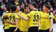 Dortmund siegt im Schongang