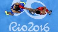 Mit sich selbst verstrickt: Die Aiba ist beim IOC radikal in Ungnade gefallen.
