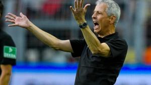 Lucien Favre sieht trotz Sieges Korrekturbedarf