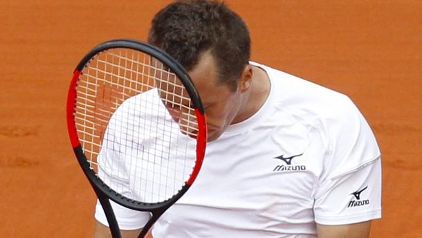 Tränen und Drama als Werbung für Davis Cup