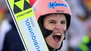 Das spektakuläre Duell um den Skisprung-Thron