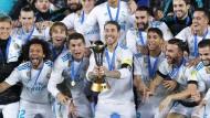 Titelverteidigung: Real Madrid feiert die Klub-WM