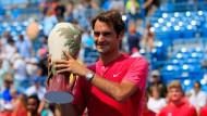 Federer im siebten Himmel