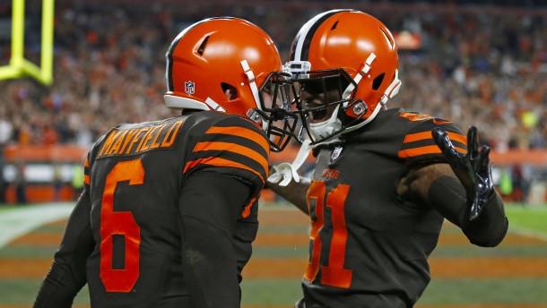 Erster Sieg der Cleveland Browns seit 635 Tagen
