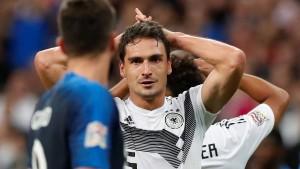 Nationalmannschaft deutlich verbessert – aber trotzdem geschlagen