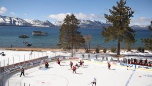 Kurioses Eishockey-Spiel mit acht Stunden Pause
