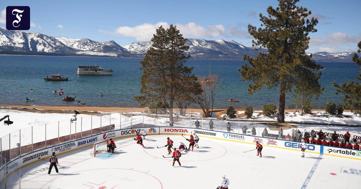 Kurioses Eishockey-Spiel mit acht Stunden Pause - FAZ - Frankfurter Allgemeine Zeitung