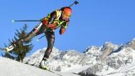 Laura Dahlmeier blieb beim WM-Sprint in Hochfilzen ohne Fehler