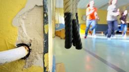Frischer Putz für alte Hallen