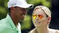 Tiger Woods (links) und Lindsey Vonn beenden ihre Beziehung nach fast drei Jahren